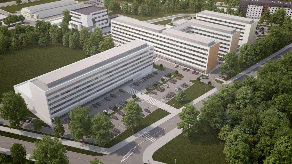 © Geo Grupa Deweloperska; Geo Medical in Katowice
