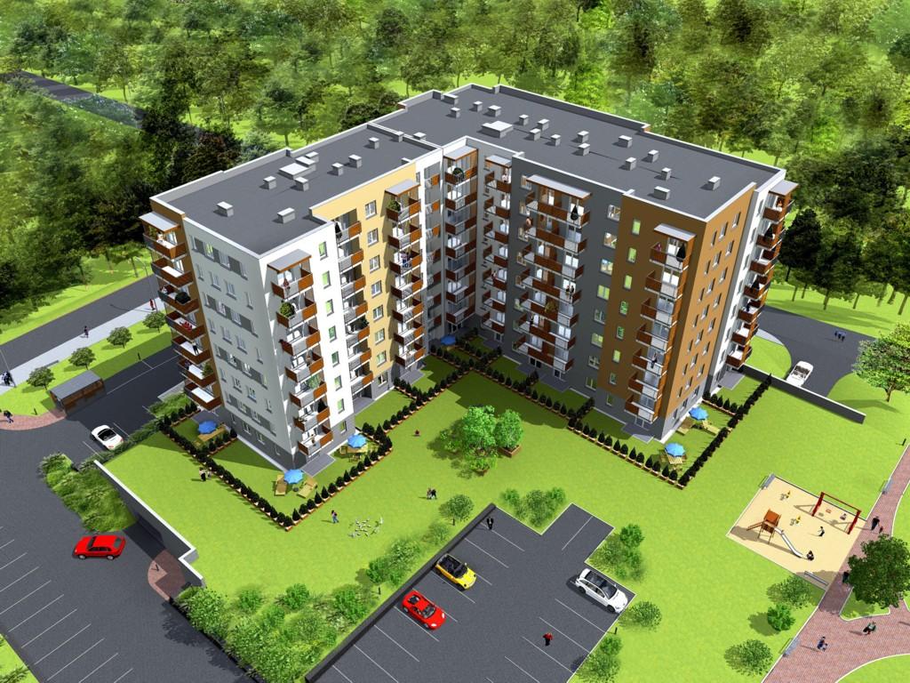 © Murapol SA; 8-storey apartment building of Murapol Bażantów