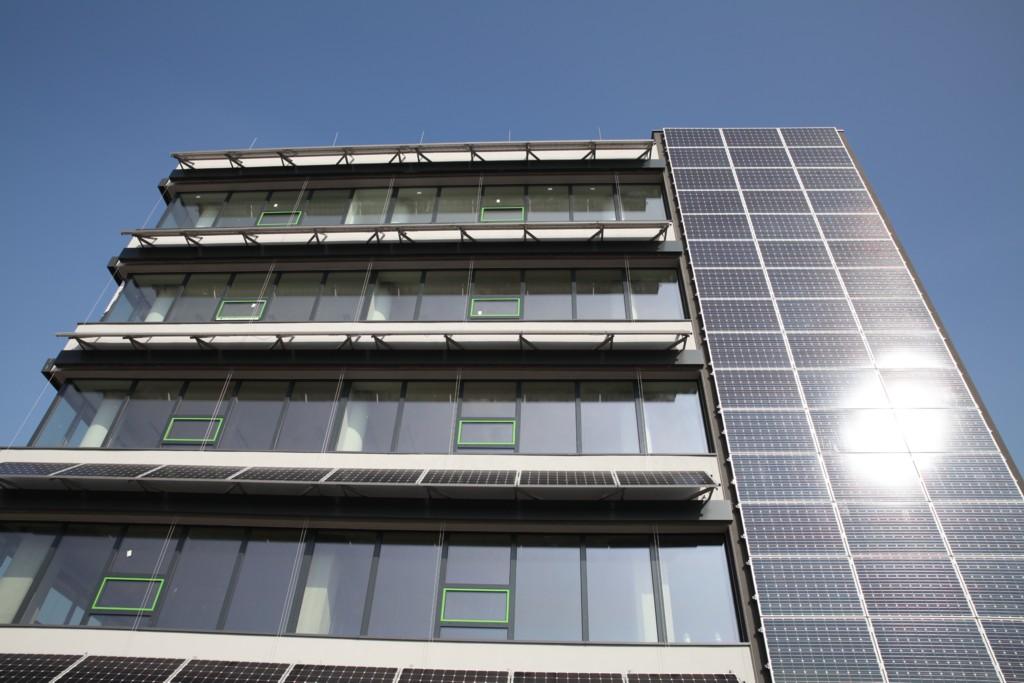 © Euro-Centrum Science and Technology Park; passive building under construction