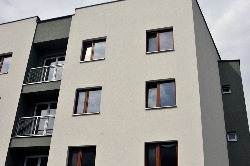 © Exland; third stage of the housing estate on Koszykowa St.