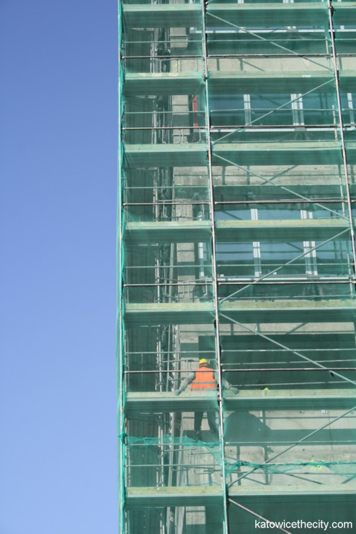 Works on the first building of GPP Business Park