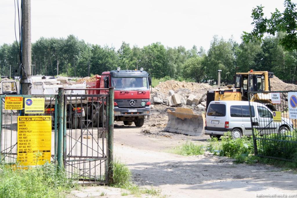Construction plot of Francuska Park