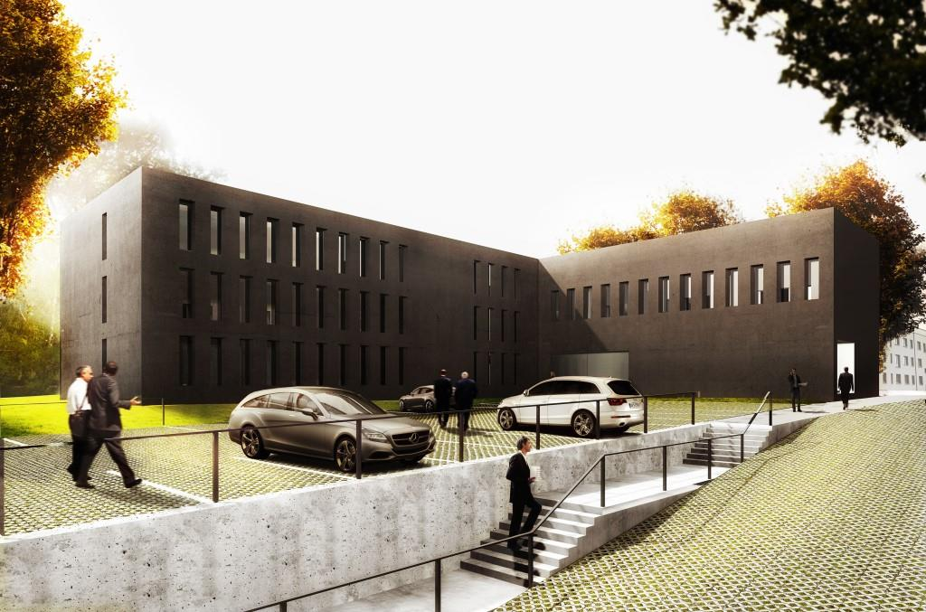 © Giesche Foundation; office building of the Porcelana Śląska Park